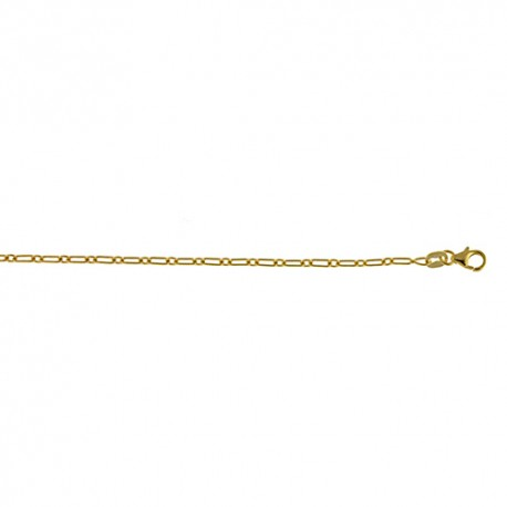 14K Yellow Gold Flat Link Chain 2.3mm