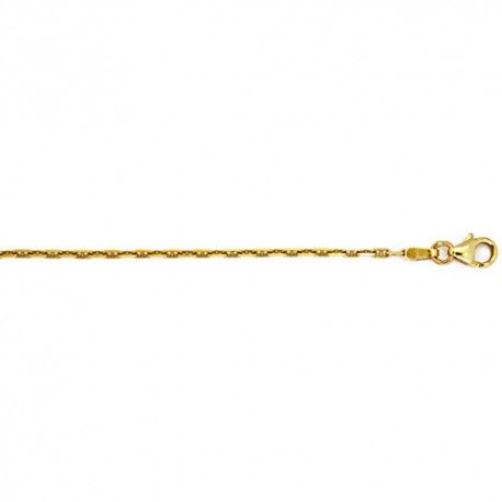 18K Yellow Gold Anchor Style Link Chain 1.7mm