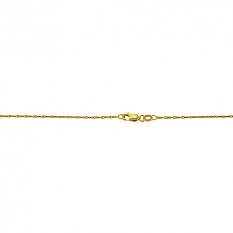 18K Yellow Gold Link Chain 1.5mm