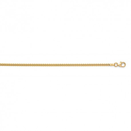 18K Yellow Gold Curb Chain 2.4mm