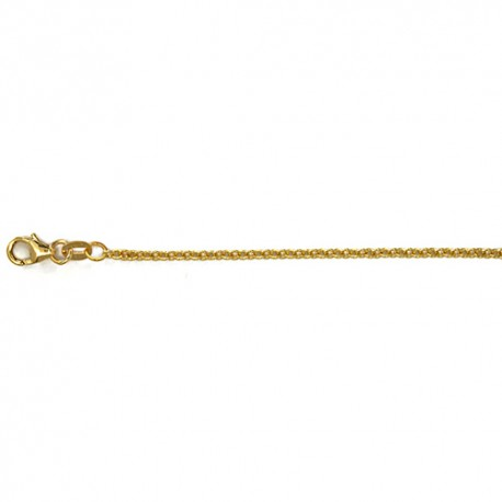 14K Yellow Gold Cable Chain 2mm