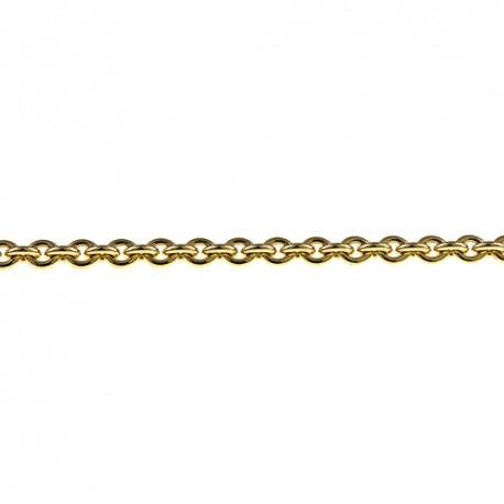 14K Yellow Gold Cable Chain 3.0mm