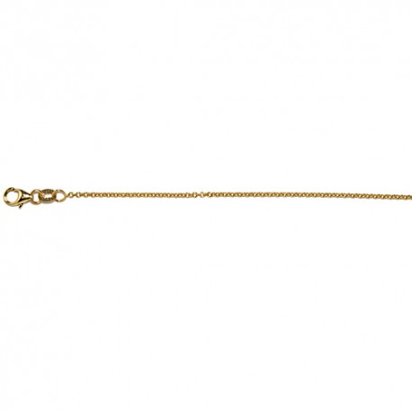 18K Yellow Gold Cable Chain 1.5mm