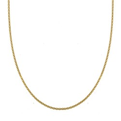 18K Yellow Gold Cable Chain 3.0mm