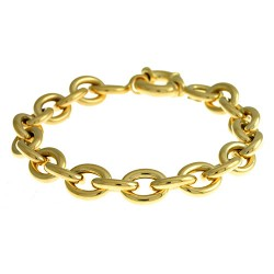 14K Yellow Gold Bracelet 10.5mm