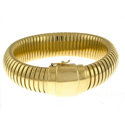 14K Yellow Gold Bracelet 16mm