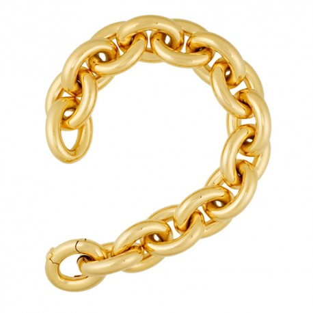 14K Yellow Gold Large Link Bracelet