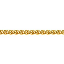 14K Yellow Gold Wheat Chain 2.1mm