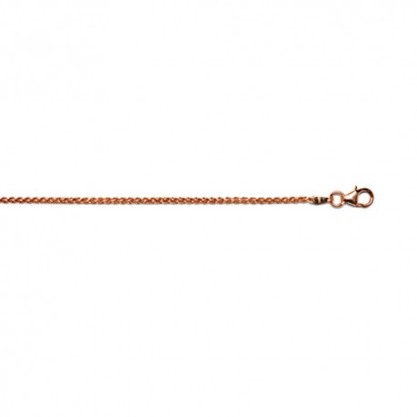 18KT Pink Wheat 1.7mm