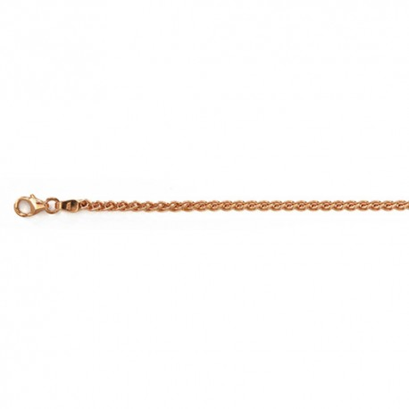 18KT Pink Wheat 2.5mm
