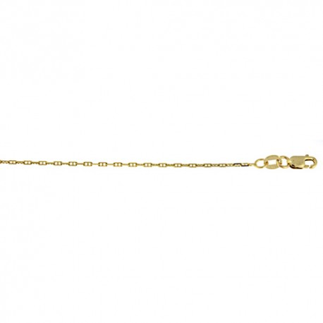 14K Yellow Gold Anchor Chain